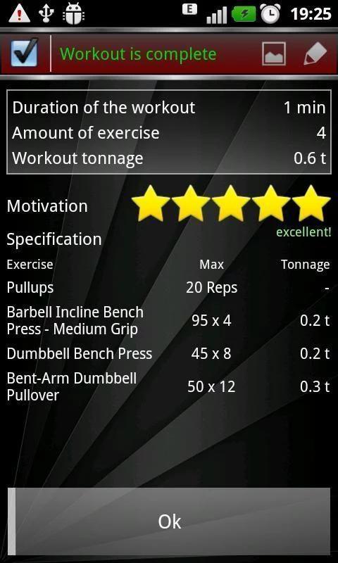 Gym Book: training notebook* screenshot 5