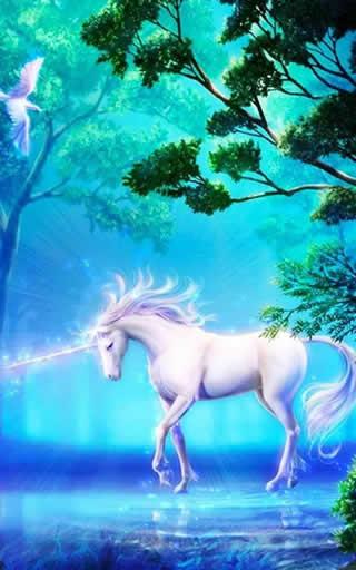 Unicorn Live Wallpaper screenshot 3
