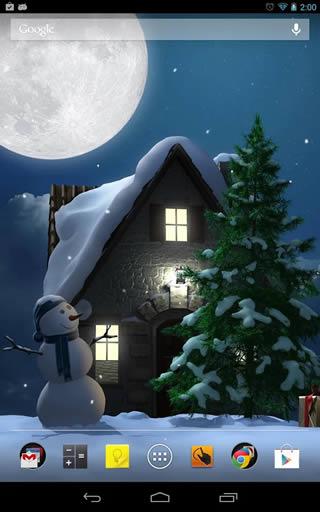 Christmas Moon free screenshot 2