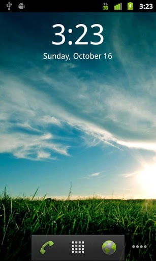 Digital Clock Widget screenshot 5