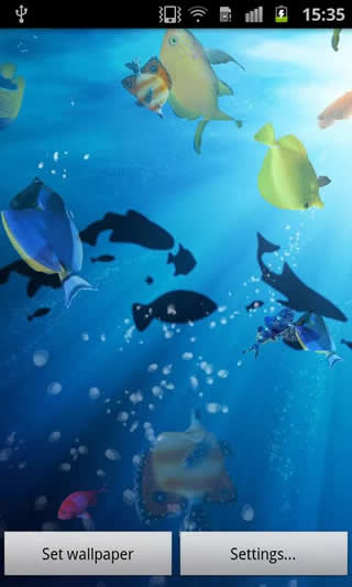 Ocean Fish Live Wallpaper screenshot 2