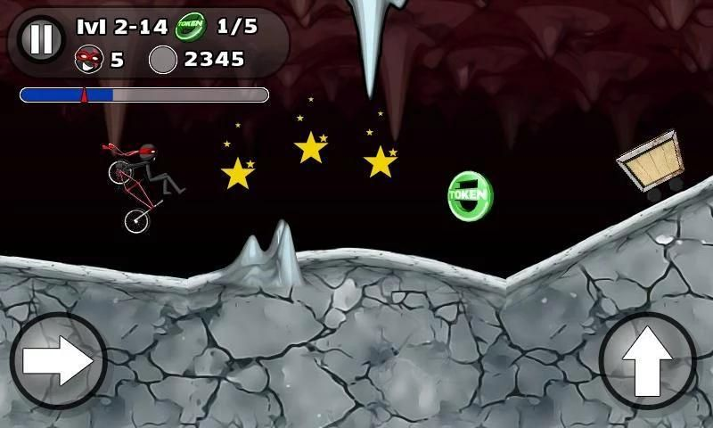 StickMan BMX Stunts Bike screenshot 1