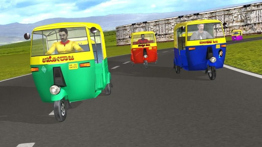 Auto Rickshaw Rash screenshot 1