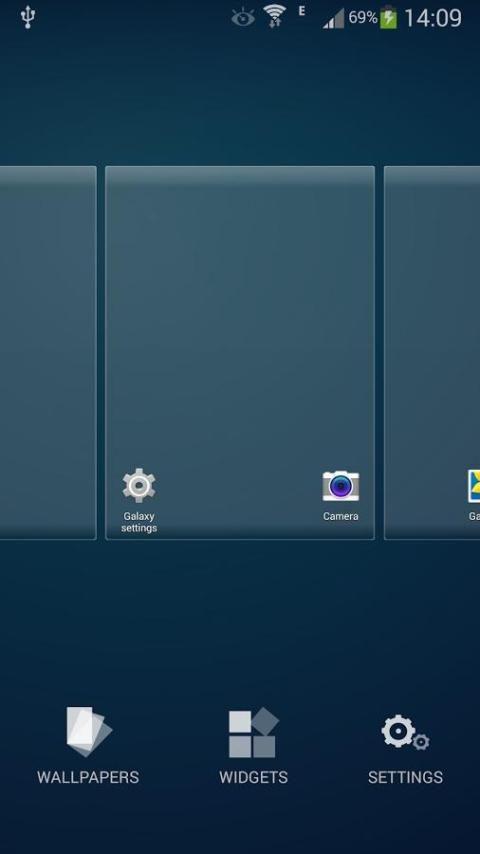 Galaxy Launcher screenshot 3