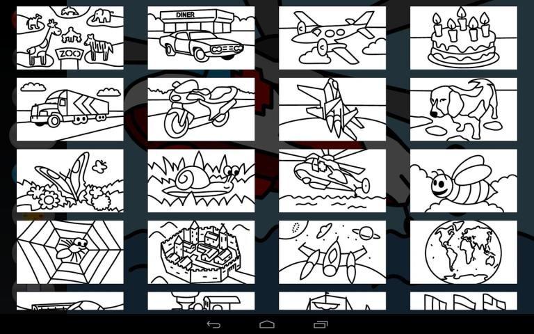 Zebra Paint Coloring App screenshot 2