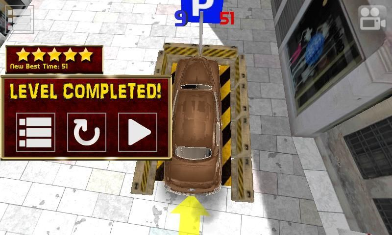 Classic Car Parking HQ screenshot 7