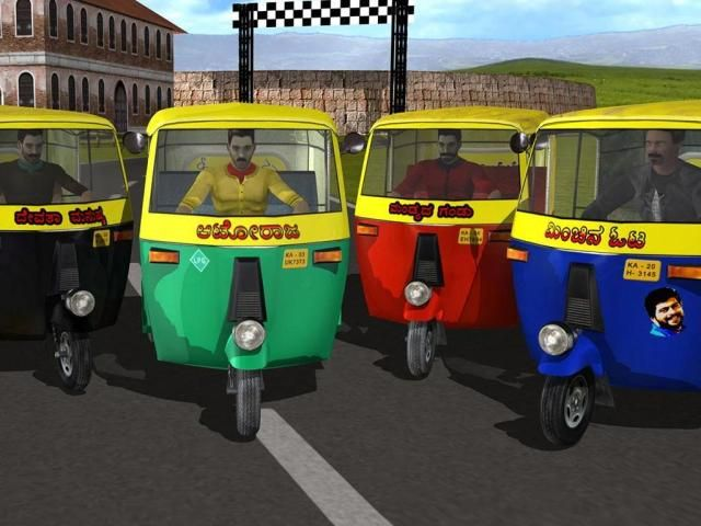 Auto Rickshaw Rash screenshot 4