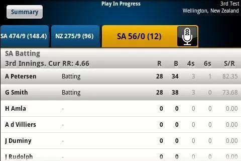 Yahoo Cricket screenshot 5