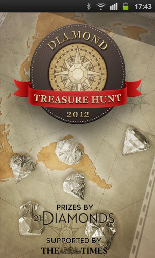 Diamond Treasure Hunt screenshot 1