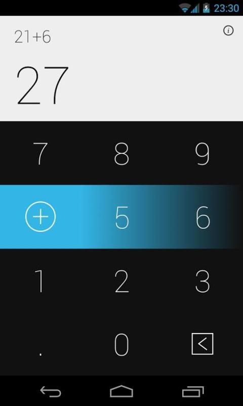 Swipe Calculator FREE screenshot 2