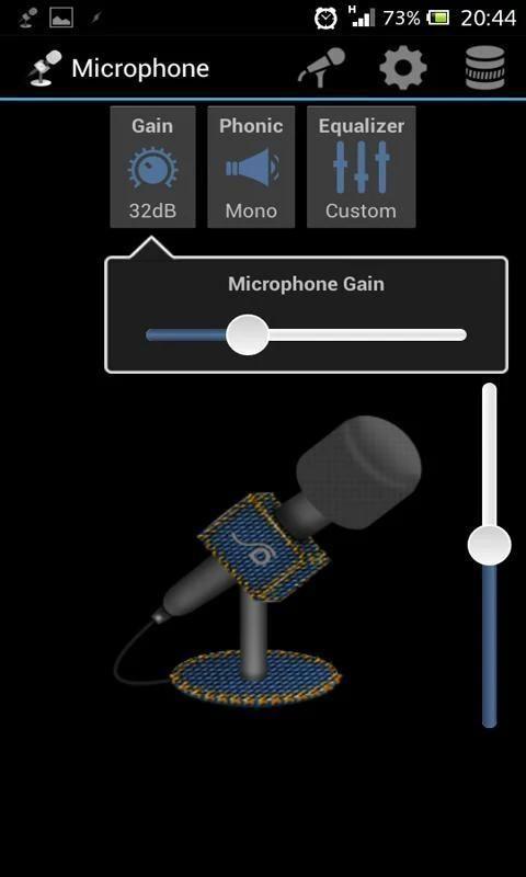 Microphone screenshot 1