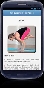 Belly Fat Burning Yoga Workout screenshot 1