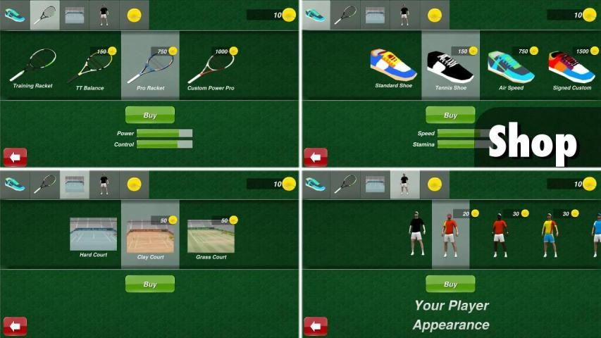 Tennis Champion 3D screenshot 5