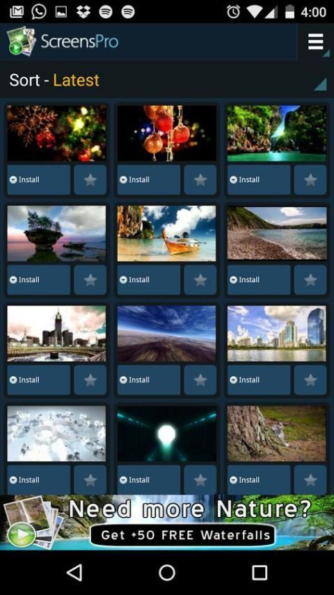 Живые HD-видео-обои V2 screenshot 10
