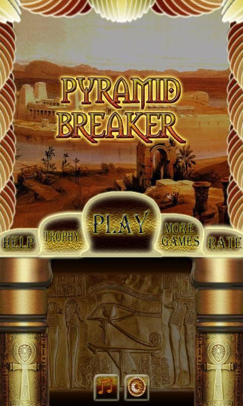 Pyramid Bricks Breaker screenshot 4