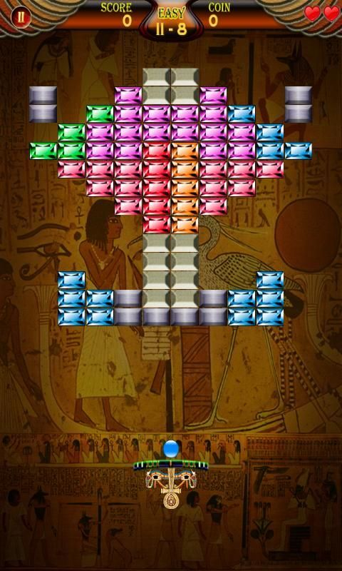 Pyramid Bricks Breaker screenshot 3
