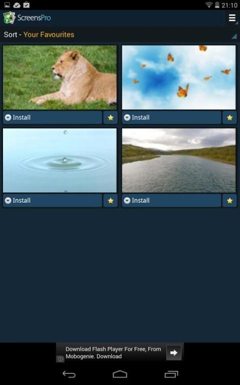 Живые HD-видео-обои V2 screenshot 8