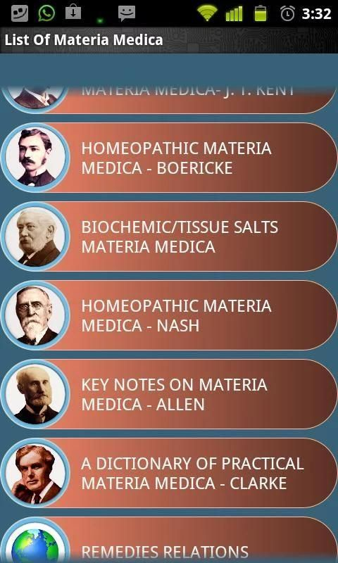 Materia Medica Lite screenshot 2