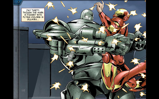 The Avengers-Iron Man Mark VII screenshot 3