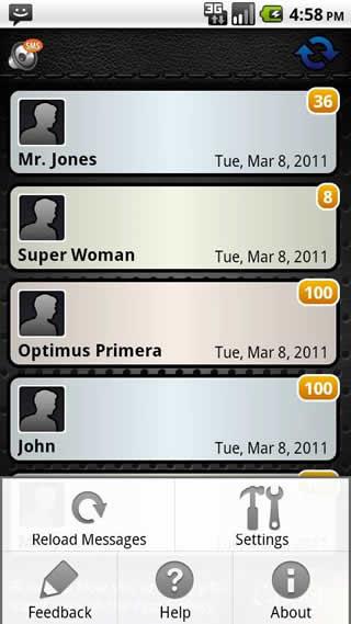 SMS Speak screenshot 3