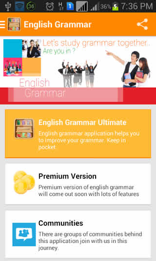 English Grammar Ultimate screenshot 5