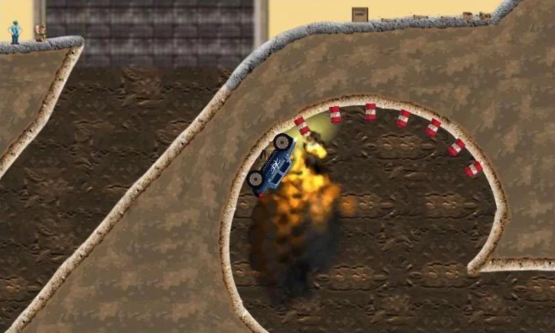 Monster truck Game Rage Truck screenshot 3
