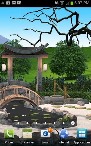 The Living Garden: Zen HD Free screenshot 1