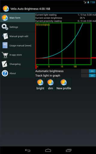 Velis Auto Brightness screenshot 3