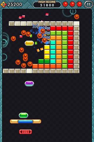 BrickBreaker 2012 screenshot 2