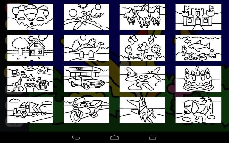 Zebra Paint Coloring App screenshot 8
