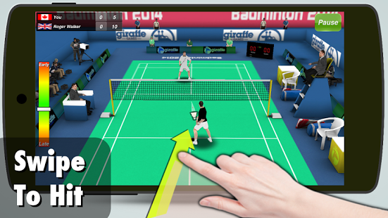 Badminton 3D screenshot 1