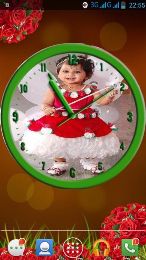 My Photo Clock Live Wallpaper screenshot 5