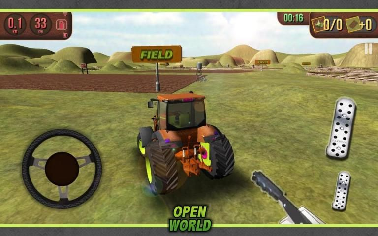 Tractor Simulator 3D screenshot 2