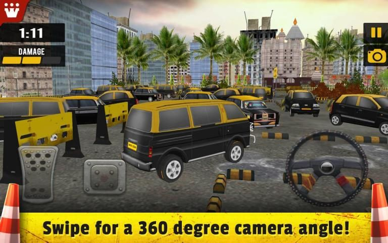 Taxi 3D Parking India screenshot 4