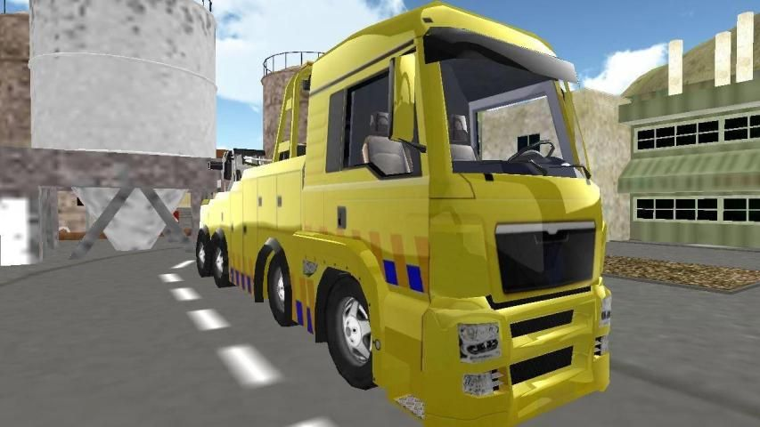 Truck Racing 3D Driving screenshot 13