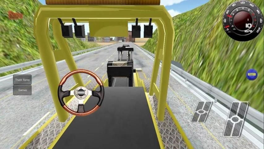 Truck Racing 3D Driving screenshot 2