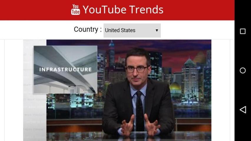 Trends of youtube screenshot 4