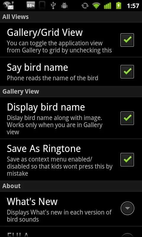 Bird Sounds & Ringtones screenshot 3