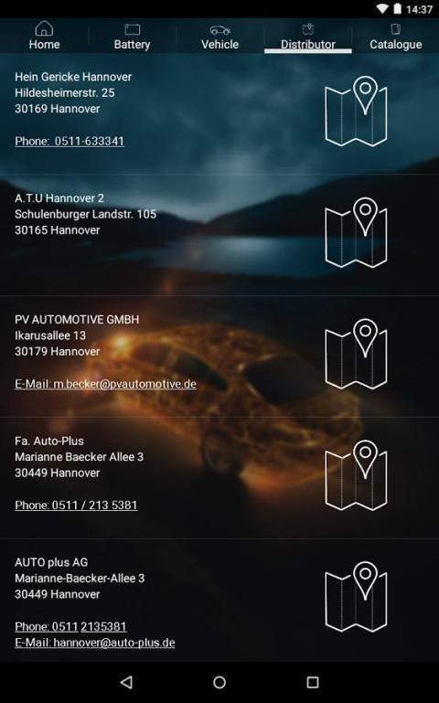 VARTA® Battery Finder screenshot 2