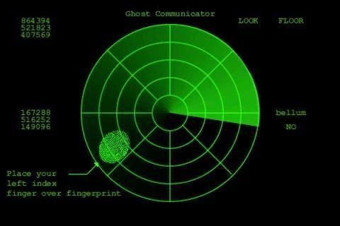 Ghost Communicator FREE Radar screenshot 1