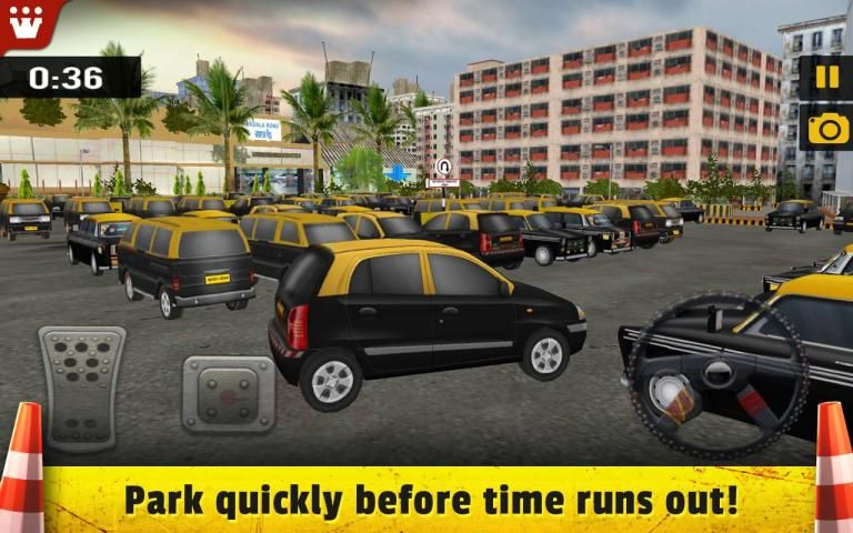 Taxi 3D Parking India screenshot 2