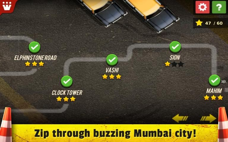 Taxi 3D Parking India screenshot 1