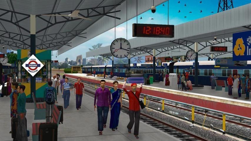 Indian Train Simulator screenshot 2