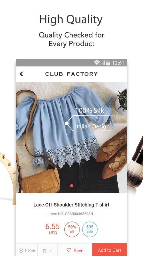 Club Factory-Fair Price screenshot 5