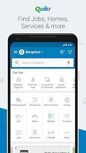 Quikr – Search Jobs, Mobiles, Cars, Home Services screenshot 1