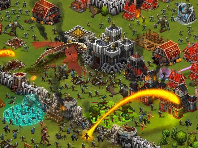 Throne Rush screenshot 5